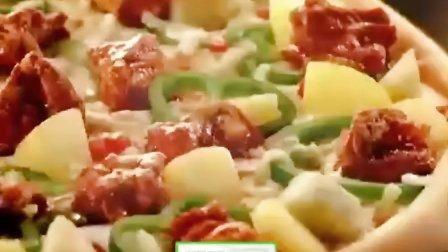 韩国鸡排披萨广告——韩孝珠