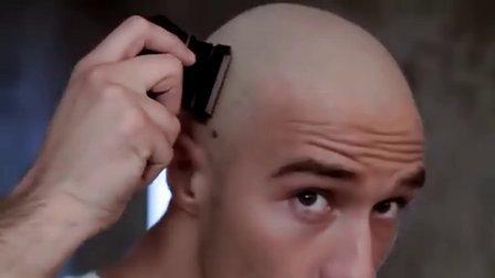 Philips飞利浦最高端QC5550 180度自助理发器 可剃光头
