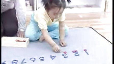 蒙特梭利教具操作——数字与筹码