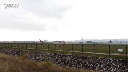 南宁机场 深圳航空A321起飞
