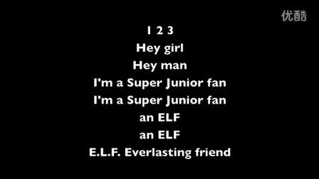 E.L.F Song 歌词版