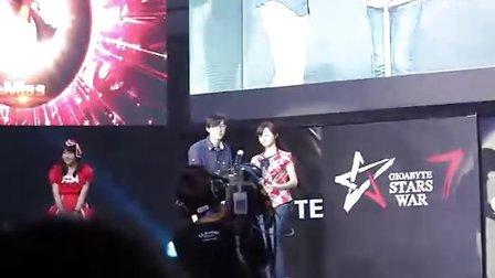 GTV Miss获得最佳女选手奖。