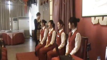 礼仪培训师兰宗晓推出精品课程酒店礼仪培训