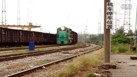 ND5货列通过合肥东站