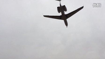 iPhone 5s 拍的飞机降落1