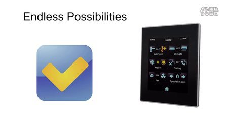 InZennio Z41- KNX capacitive color touch panel