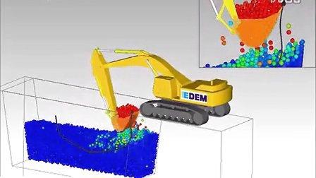 EnSight后处理:多域耦合——挖土机运动和应力模拟可视化