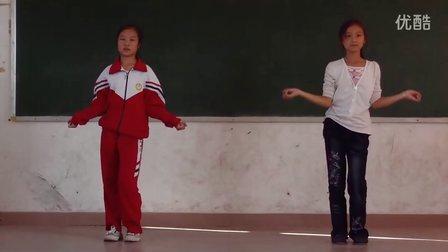 罗坝小学大课间活动集体开场舞《大家一起来》