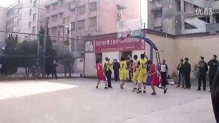 来安县第八届丰收杯男子篮球赛决赛23日第二场4 - 新安网发布