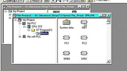 STEP7视频教程之编程第8集显示程序状态.flv