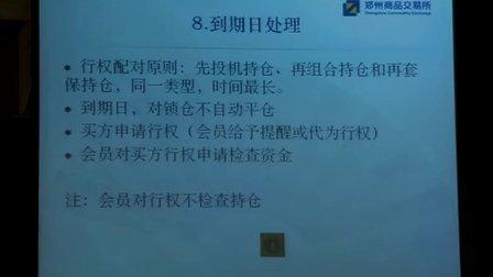(第一期期权讲习班)期权交易规则草案解读---刘少华主讲