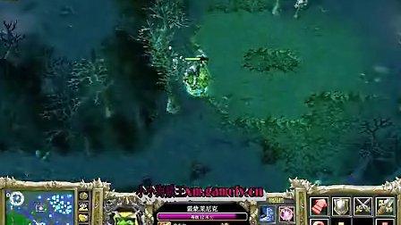 情书解说解说dota海涛Gank术士,2000分,一个小时