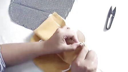 左手右手DIY手工布包-小明小斜挎包的制作教程