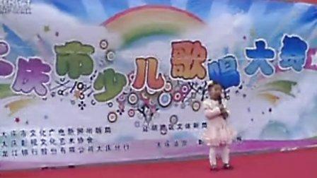 完颜俊又 3岁 唱英文歌 现场 自拍