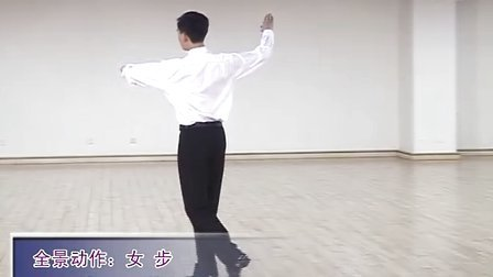 王子文体育舞蹈 狐步03