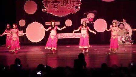 2011广州大学新闻与传播学院&人文学院文艺晚会节目之《Belly Dance》
