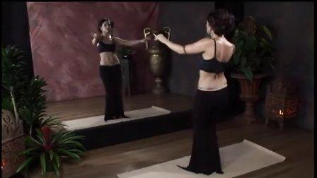 肚皮舞入门教学视频  肚皮舞基本动作  肚皮舞教学视频 92肚皮舞