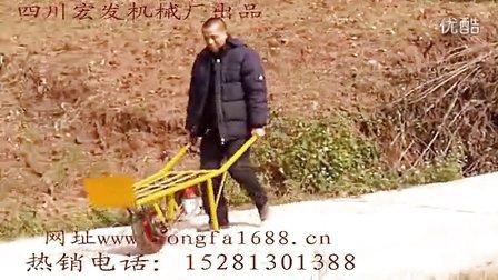 鸡公车独轮车助力手推车电动推车码头搬运物流车农用车