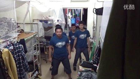 广东职业技术学院13级南一栋某宿舍跳舞