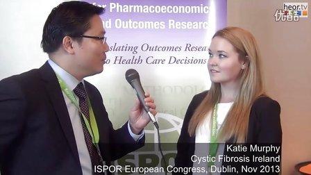 ISPOR欧洲年会上采访爱尔兰少女 Katie Murphy