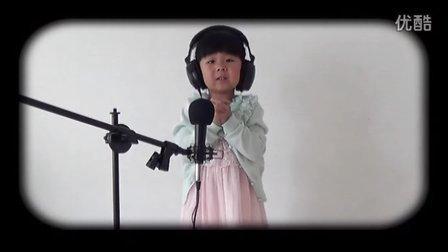 三岁超萌宝贝翻唱 明天会更好