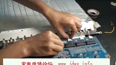 液晶彩电高压板的检修与代换