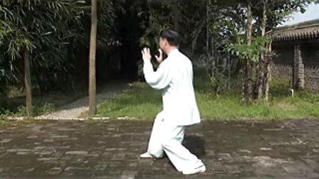 杨式太极拳的揽雀尾与斜揽雀尾练法