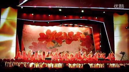建党90周年广东高校倡廉文艺汇演  广东海洋大学舞蹈《青春誓言》彩排