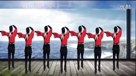 忻城县萍水相逢广场舞 美丽的索玛花
