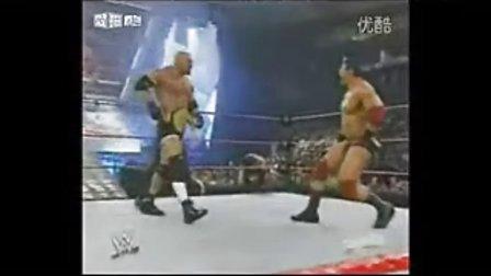 wwehhh WWE高柏vs巴蒂斯塔 加HHH捣乱 中文解说