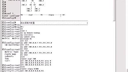CISCO路由器交换机配置.CH8.4.路由过滤之Route-map&Distribute-list实例[西安鹏程_XAPC.COM.CN]