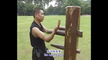 佛山詠春木人樁