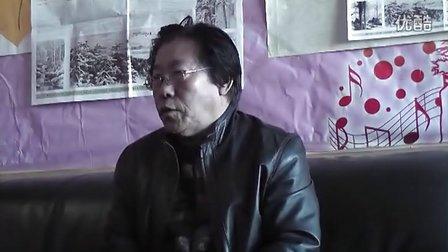 中国百姓才艺网专访冰雪书画名家王自修