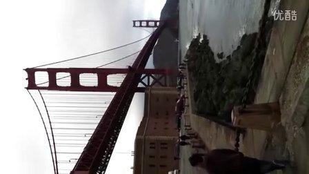 金门大桥一秒
