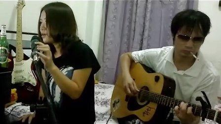 【月亮代表我的心】 尘姐姐——琴放 吉他弹唱