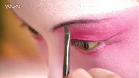 苏州昆曲演员化妆一组戏剧戏曲 演员化妆 中国高清实拍视频素材
