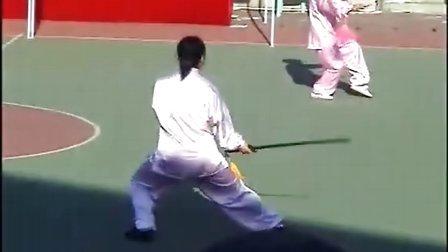 太极剑陈式49式 太极单剑 不要错过 陈家沟太极馆 比赛教学演示