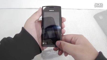 唐君毅UnboxingVideo 诺基亚  Nokia 500 开箱视频