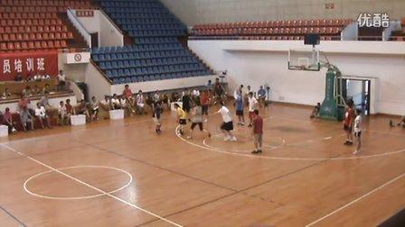 篮球c级教练员-郑武——2011年浙江省大中学校C级篮球教练员培训班视频