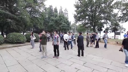 [拍客]武汉东湖风景区迎来全国网络媒体采访团