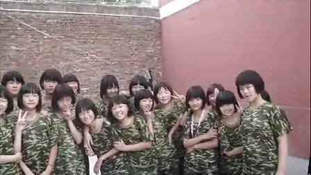郑州公林素质教育培训中心某女子中学军事拓展训练