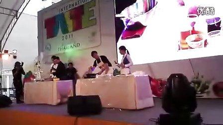 Pong参加2011泰国TASTE国际美食节