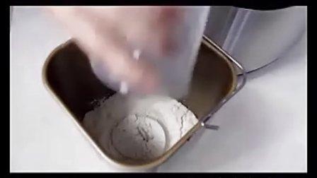 柏翠面包机 做面包