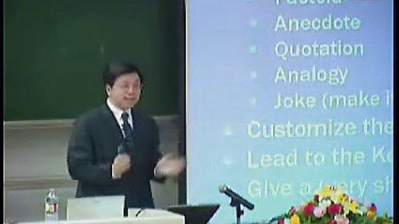 【李开复演讲】李开复北航演讲——如何成为一个出色的演讲家