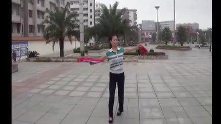 博白民族舞-《  红红的日子 》(反面)