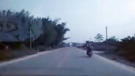 广西省南宁市宾阳县桂安驾校路考路段视频