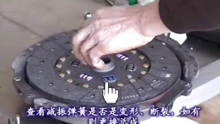 【金杯汽车维修】202离合器的安装