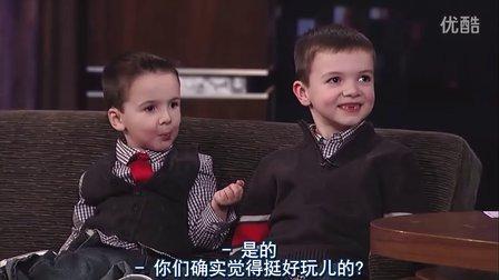 (万圣节糖果兄弟续)(国外淡定哥)接受Jimmy Kimmel的采访(CJ Jake)中字