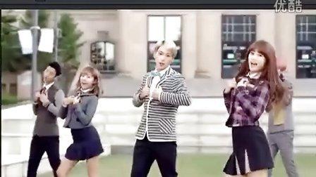 B.A.P & APink CF Mini MV