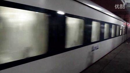 京九铁路线(在南昌站内拍车)——Z134次进站